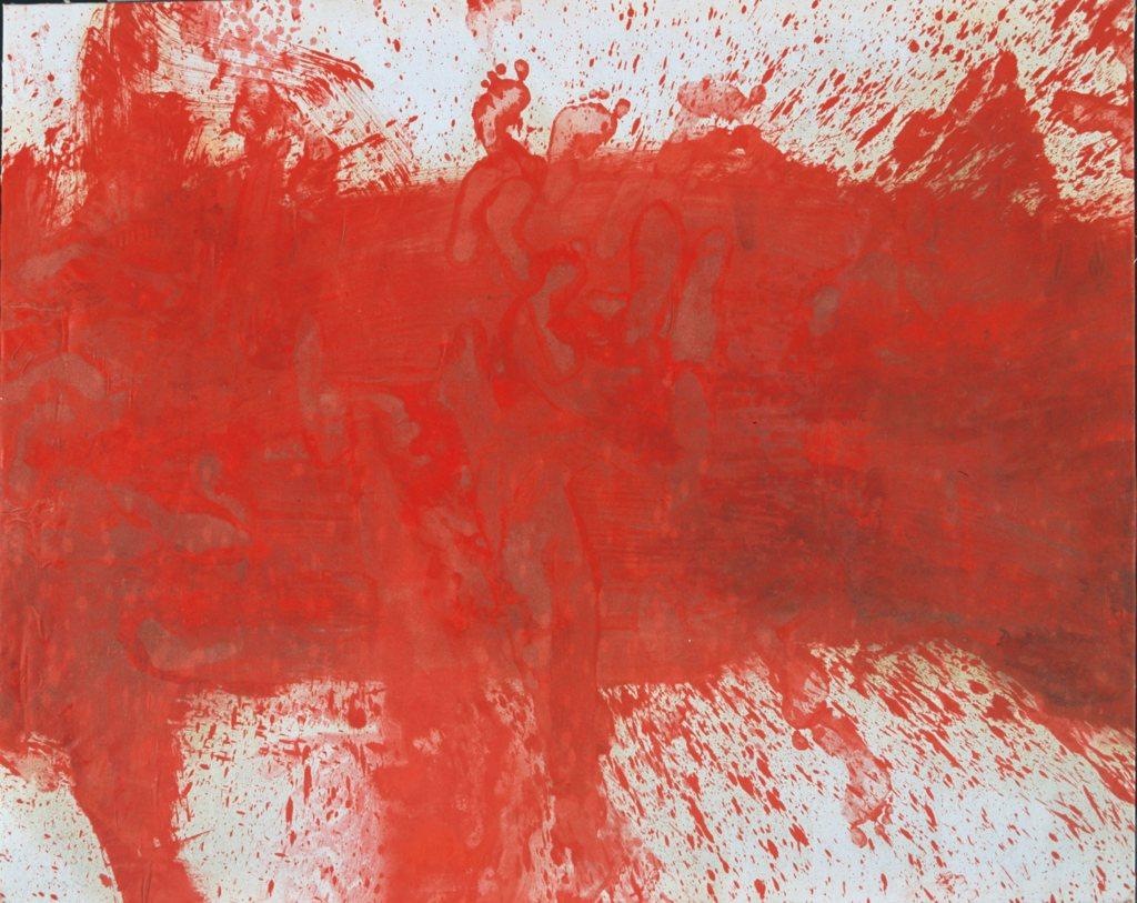 Die Farbe Rot und der Lebenssaft